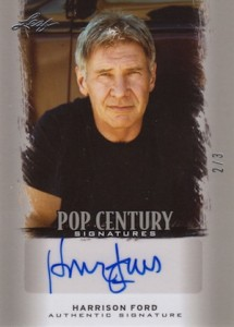 Harrison Ford Autograph Card Collecting Guide and Checklist 63