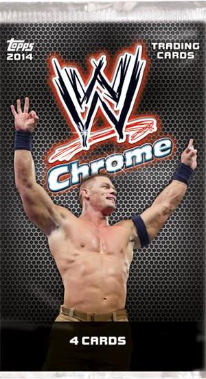 2014 Topps Chrome WWE #1 AJ Lee Wrestling Card