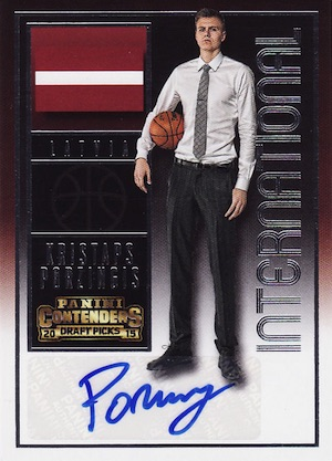Kristaps Porzingis Rookie Cards Guide and Checklist 10