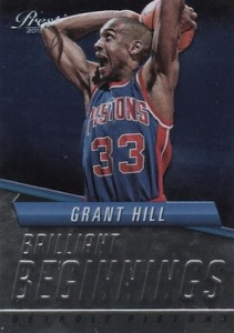 2015-16 Panini Prestige Basketball Brilliant Beginnings Grant Hill
