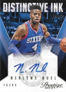 2015-16 Panini Prestige Basketball Distinctive Ink Noel