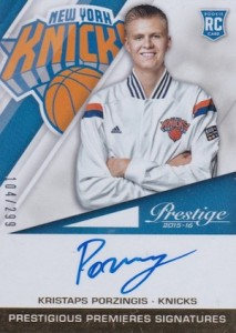 Kristaps Porzingis Rookie Cards Guide and Checklist 40
