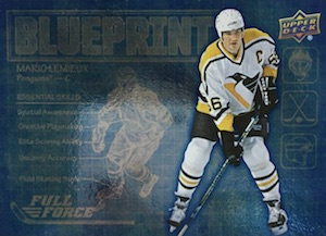 2015-16 Upper Deck Full Force Hockey Blueprint