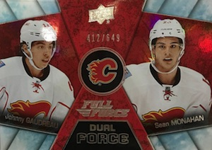 2015-16 Upper Deck Full Force Hockey Dual Force