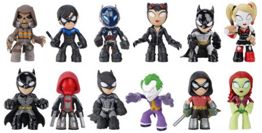 2015 Funko Batman Arkham Mystery Minis figures