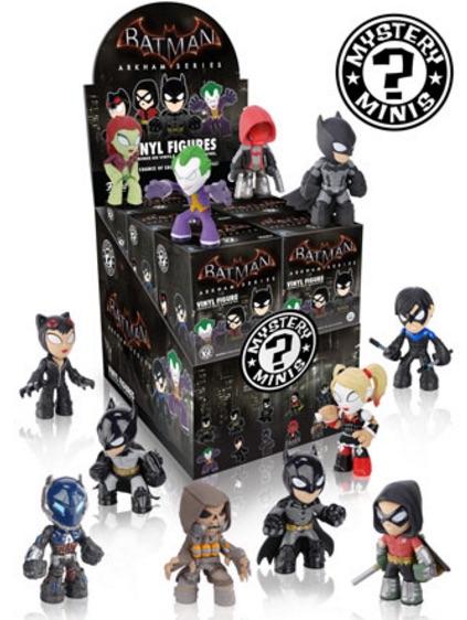 2015 Funko Batman Arkham Mystery Minis