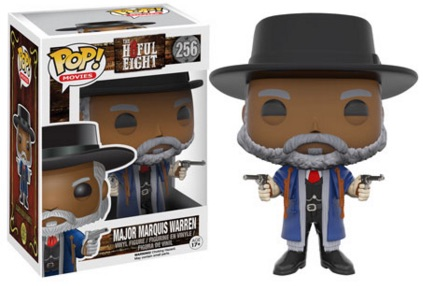 2015 Funko Pop The Hateful Eight Major Marquis Warren