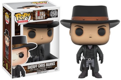 2015 Funko Pop The Hateful Eight Sheriff Chris Mannix