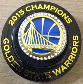 Golden State Warriors Replica 2015 Championship Rings & Trophies Seeing Strong Interest 1