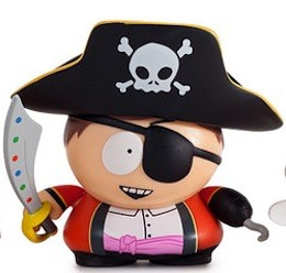 2015 Kidrobot South Park Many Faces Cartman Pirate