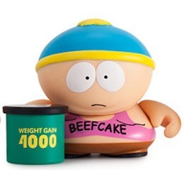 2015 Kidrobot South Park Many Faces Cartman beefcake