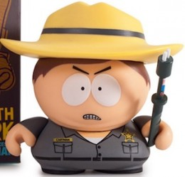2015 Kidrobot South Park Many Faces Cartman border control