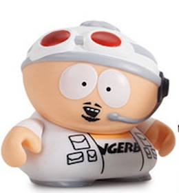 2015 Kidrobot South Park Many Faces Cartman finger bang