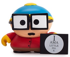 2015 Kidrobot South Park Many Faces Cartman piggy