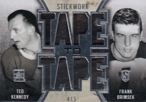 2015 Leaf ITG Stickwork Hockey Tape to Tape