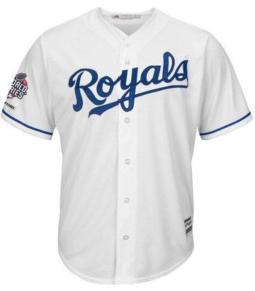 2015 Majestic Royals World Series Champions Jersey