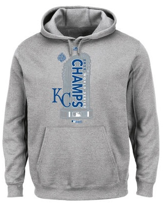 2015 Majestic Royals World Series Champions Locker Room Hoodie