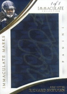 2015 Panini Immaculate Football Marks