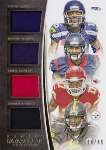 2015 Panini Immaculate Football Quads