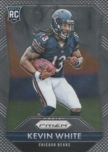 2015 Panini Prizm Football Base RC Kevin White