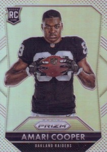 Amari Cooper Rookie Card Gallery and Checklist 19