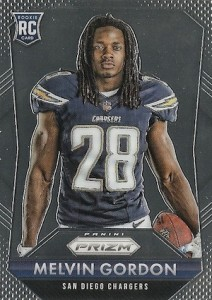 2015 Prizm Football Rookie Variations Melvin Gordon