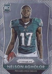 2015 Prizm Football Rookie Variations Nelson Agholor