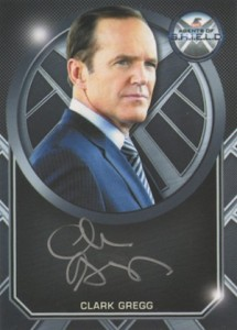2015 Rittenhouse Marvel Agents of SHIELD Season 2 Silver Signatures Clark Gregg