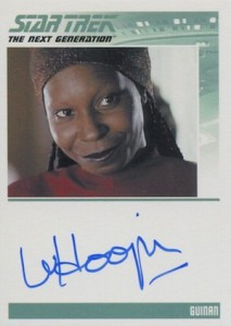 2015 Rittenhouse Star Trek The Next Generation Portfolio Prints Series 1 Autograph Whoopi Goldberg