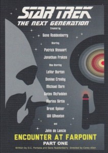 2015 Rittenhouse Star Trek The Next Generation Portfolio Prints Series 1 Base