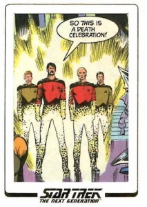 2015 Rittenhouse Star Trek The Next Generation Portfolio Prints Series 1 Comic Archive Cut Cards