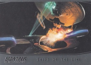 2015 Rittenhouse Star Trek: The Next Generation Portfolio Prints Series 1 Trading Cards 26
