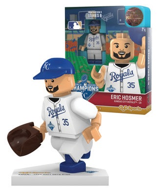 2015 Royals OYO World Series Champions Mini Player Figure Hosmer