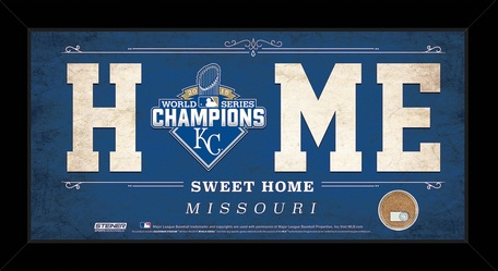 2015 Royals World Series Champions 1ox20 Home Sweet Home