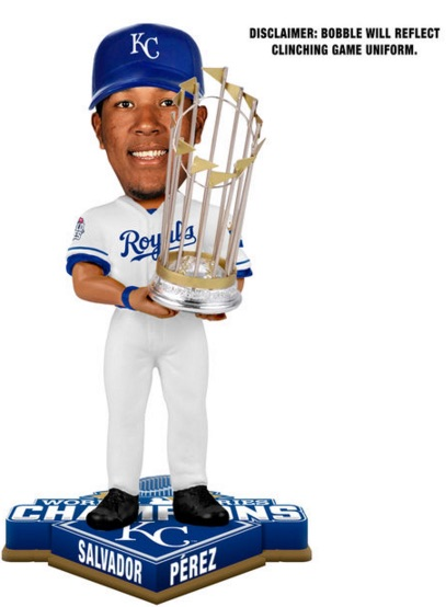 2015 Royals World Series Champions Bobbleheads