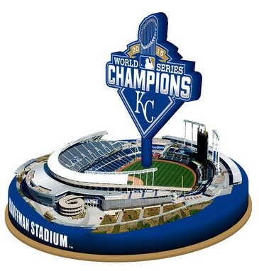 2015 Royals World Series Champions Stadium Replica