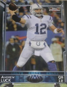2015 Topps Chrome Football Variations Short Print Guide 7