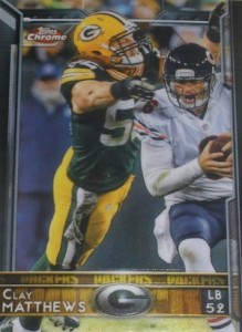 2015 Topps Chrome Football Variations Short Print Guide 44