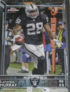 2015 Topps Chrome Football Variations Short Print Guide 63
