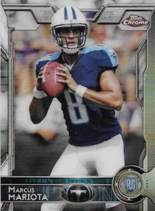 2015 Topps Chrome Football Variations Short Print Guide 119