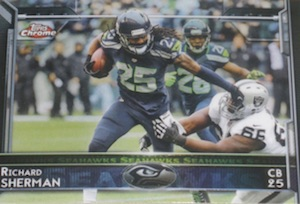 2015 Topps Chrome Football Variations Short Print Guide 11