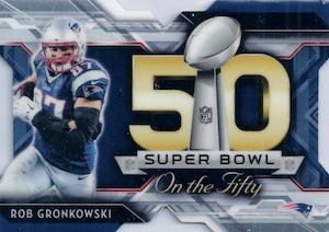 2015 Topps Chrome Foootball Super Bowl Die-Cut