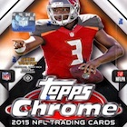 2015 Topps Chrome Football Cards