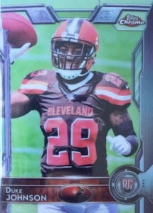 2015 Topps Chrome Football Variations Short Print Guide 116