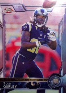 2015 Topps Chrome Variation RC Todd Gurley