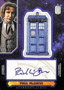 2015 Topps Doctor Who Autographed Tardis Patches
