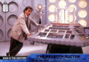 2015 Topps Doctor Who Who is the Doctor