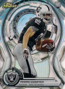 2015 Topps Finest Football Cards - Review Added 25