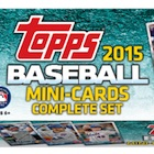 2015 Topps Mini Baseball Complete Set