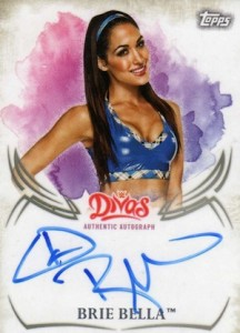 2015 Topps WWE Undisputed Wrestling Autograph Brie Bella